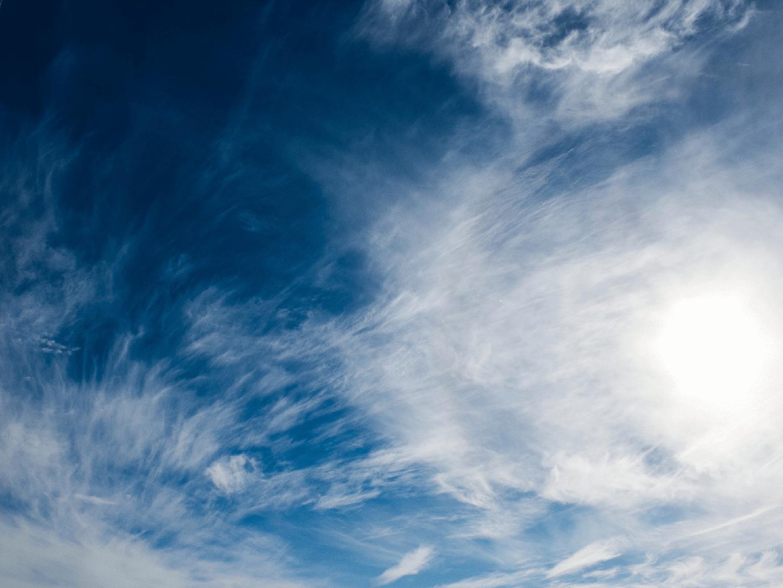 Cloud sky with light clouds