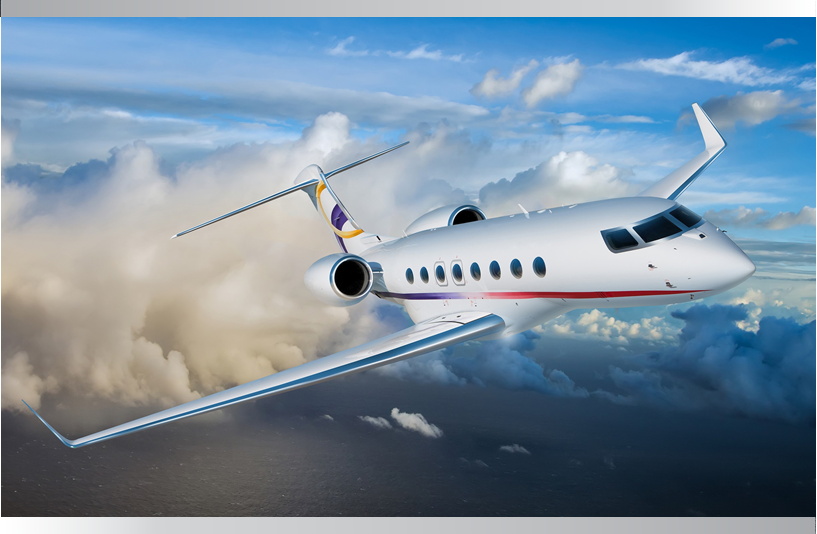 GULFSTREAM G650ER Aircraft in the air on Freestream