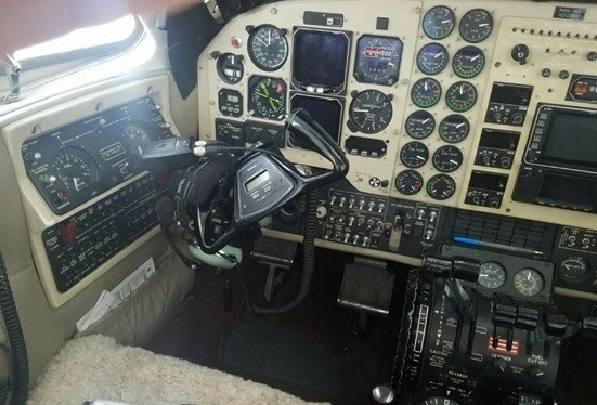 Cockpit of the 2002 King Air B200 S/N BB-1792 on Freestream